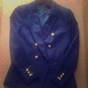 Navy Nautical Blazer w/ gold buttons